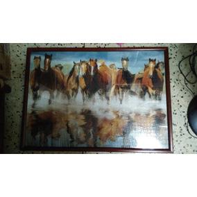 Cuadro De Rompecabezas De Caballos 1500 Piezas