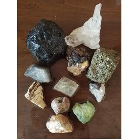 Set De Minerales Diversos En Bruto 594 Grs