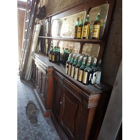 Antigüo Frente Bar Completo Decada Del 20 Restaurado