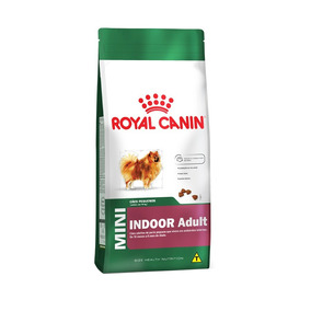 Ração Royal Canin Adulto Mini Indoor 2,5kg