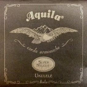 100u Jogo Cordas Ukulele Soprano Supernylgut!!! Aquila Italy