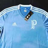 Camisa Palmeiras 2018 Treino Azul Tam P M G Gg