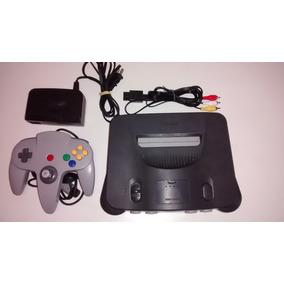 Nintendo 64 + Controle + Fonte + Av