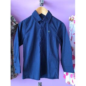 Camisa Niño 2 A 9 Años Formal Azul Con Puntos Mayoral