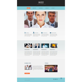 Script Php, Website Responsivo Empresarial Com Painel