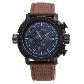 61bcfac2ce4 Relogio Skone Army Funcional Marrom - Joias e Relógios no Mercado ...