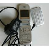 Para Repuesto Celular Alcatel E257 Sin Bateria Con Cargador