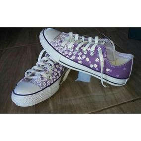 Tênis All Star Converse Floral - Calçados 2b0c43c15995d