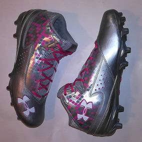 8521067a0c63c Zapatos De Futbol Americano Rosas en Mercado Libre México