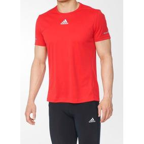 3de615010d Camiseta Adidas Vermelha - Camisetas Manga Curta para Masculino no ...