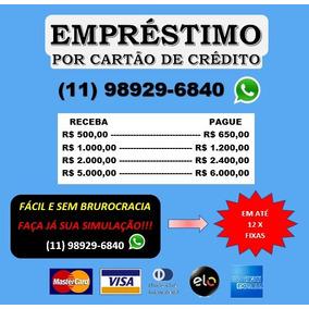 Celular - Empréstimo Pelo Cartão De Crédito