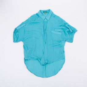 Camisa Anudada Turquesa Blbell03/93 Tienda Oficial