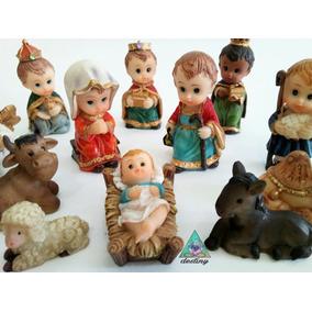 Nacimiento Navideño Con 12 Piezas - Envío Gratis Incluido