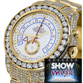 Rolex Diamond Rolex Watch Yacht-master Ii 116688 18k Yellow
