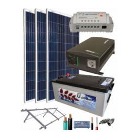 Planta Solar Rural Ó Aislada 4kw A 110vca