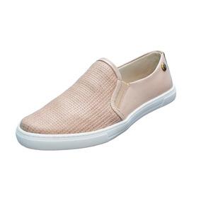 Tênis Slip On Quality Shoes Feminino Slim Trama