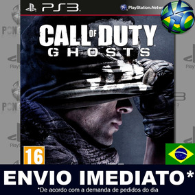 Jogo Ps3 Call Of Duty Ghosts Gold Psn Play 3 Mídia Digital
