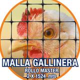 Malla Gallinera Plástica, Cercado De Animales 2 X 1,524mts