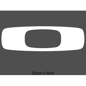 ea8b54d8e27f4 Adesivo Oakley Branco - Acessórios para Veículos no Mercado Livre Brasil