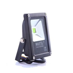 Refletor Led Holofote 10w Maxtel Verde Bivolt Ip66