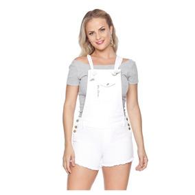 Jardineira Jeans Feminina Confort 3089