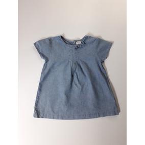 Blusa Mezclilla Para Bebé 12 Meses, Carters 0227