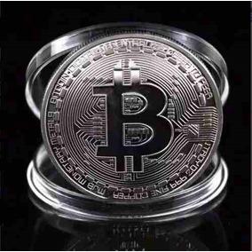 Moeda Bitcoin Comemorativa Colecao Moeda Fisica
