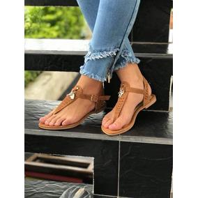 9bc9389dd4850 Sandalias Para Mujer Color Miel - Zapatos para Mujer en Mercado ...