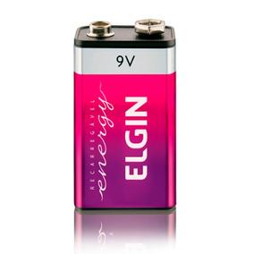 15 Baterias Elgin Recarregável 9v (82215) 250mah