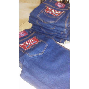 Pantalon Jeans Industrial Triple Costura Tallas Disponibles