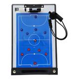 Prancheta Tática Magnética Futebol Salão Kief Futsal + Apito