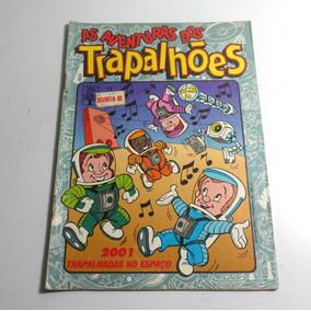 Revista Quadrinhos As Aventuras Dos Trapalhões Nº17 1991