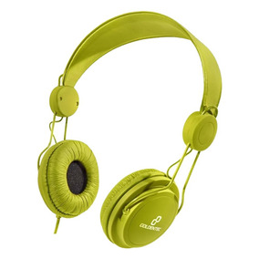 Fone De Ouvido Headset Com Microfone Soul Verde 28091