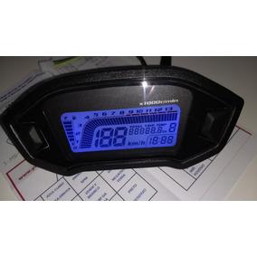 Painel Moto Digital Universal Estilo Cb500 + Sensor Caracol