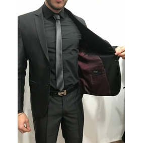 Slim Fit Ambo Entallado C  Pantalon Chupin Traje De Vestir. 2 colores ecd26676c637