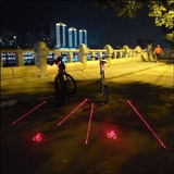 Led Sinalizador Noturno Para Bike