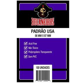 Sleeves: Protetor De Cartas Padrão Usa (56x87) - Bucaneiros