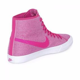 the best attitude ce9ac d5282 Zapatillas Nike Botitas Dama Primo Court Mid Canvas W Rosa