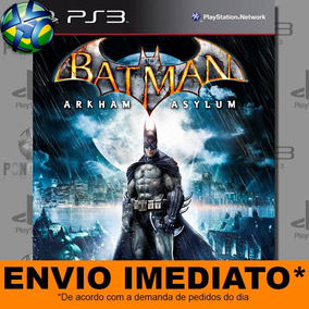 Ps3 Batman Arkham Asylum - Psn | Envio Agora - Promoção