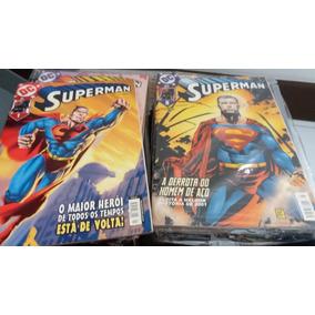 Coleção Superman Panini 1ª Série Completa