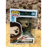 Funko Pop! Aquaman #245 Aquaman Movie Original