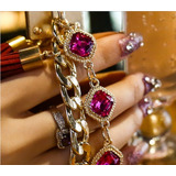 Capinha Espelhada Feminina Luxury Dourado iPhone 6 Plus