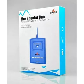 Maxshooter One 2019 Teclado E Mouse No Ps3 Ps4 Xbox One Novo