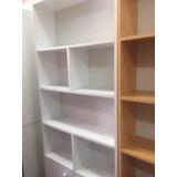 Biblioteca Archivador Aparador Librero Estante De Melamina