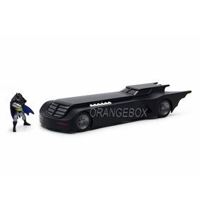 Batmóvel Animated + Figura Batman (em Metal) Jada Toys 1:24