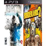 Red Faction Armageddon & Borderlands 2 Digital Ps3
