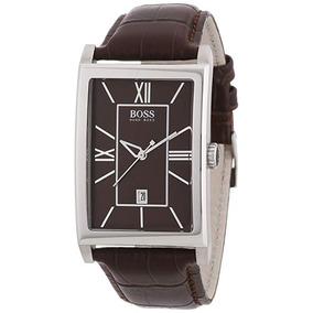 Relógio De Pulso Hugo Boss Brown Dial Brown Leather Men Watc