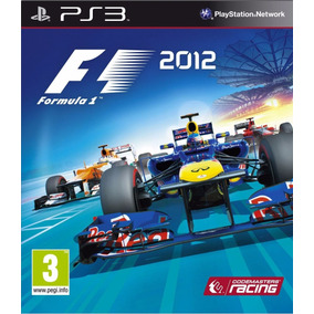 Formula 1 2012 - Ps3 Mídia Física