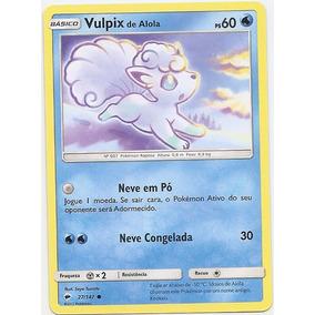 Carta Pokémon - Vulpix Alola (sombras Ardentes)