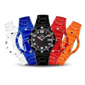 dd5b97a5455 Relógio Champion Troca Pulseira Fundo Preto - Joias e Relógios no ...